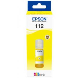 Epson - 112 EcoTank Pigment Yellow Ink Bottle