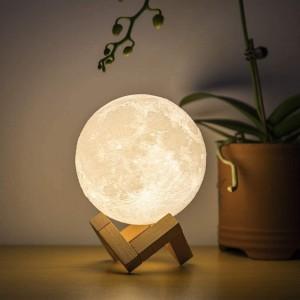 Humidifier 3D Moon Lamp