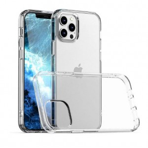 Tuff-Luv Gel case for Apple iPhone 12 and 12 Pro - Clear (5055261883492)