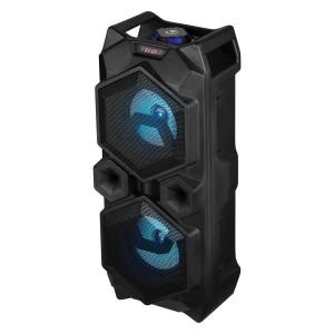 "Volkano Celestial Series Dual 4"" Bluetooth Speaker - Black"