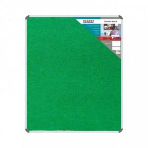 Parrot Bulletin Board Ribbed Aluminium Frame (1200x1000mm - Palm)
