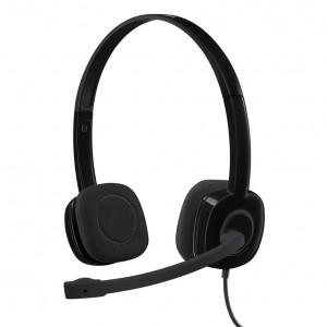 Logitech H151 Black Wired Headset