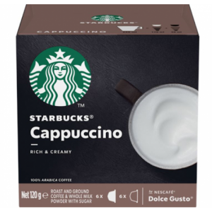 Nescafe Dolce Gusto Starbucks Cappuccino 12