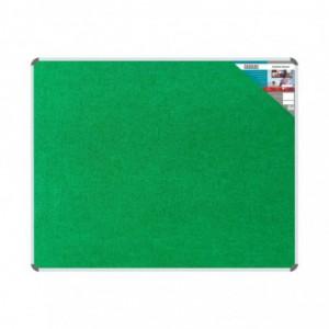 Bulletin Board Ribbed Aluminium Frame (1500x1200mm - Palm)