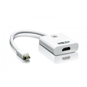 Aten Mini DisplayPort to 4k HDMI Adapter