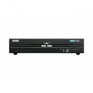 Aten 2-Port Dual Display HDMI Secure KVM with PP 3.0