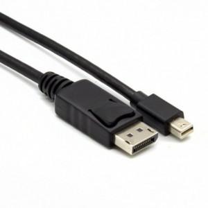 Gizzu Mini DisplayPort to DisplayPort 4k 30Hz|4k 60Hz 3m (Thunderbolt 2 compatible) Cable - Black