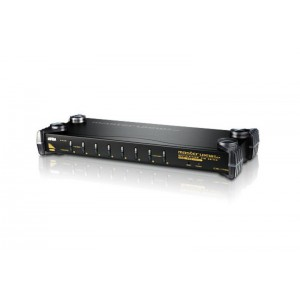 Aten 8-Port PS/2-USB VGA/Audio KVM Switch