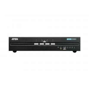 Aten 4 Port Dual Display DVI Secure KVM with PP 3.0
