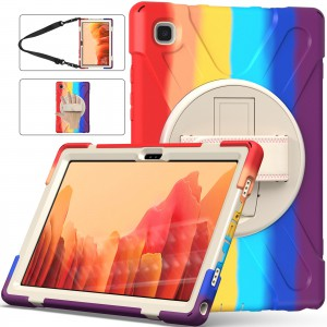 """TUFF-LUV Armour Prism - Rugged Candy Case for Samsung Galaxy Tab A7 10.4"""" T500/T505/T507 - Multi Colours"""