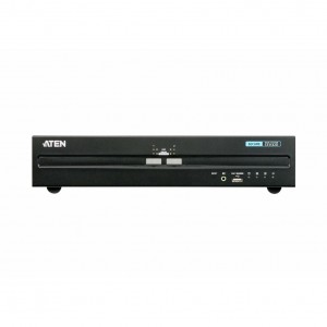 Aten 2-Port Dual Display DVI Secure KVM with PP 3.0
