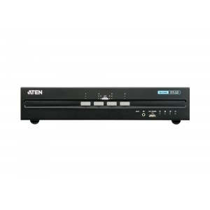 Aten 4 Port Dual Display HDMI Secure KVM with PP 3.0