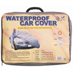 CAR COVER - NYLON: MEDIUM