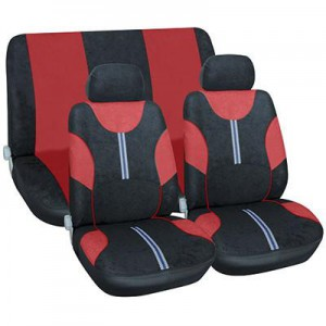 SEAT COVER (6 PIECE) - RED