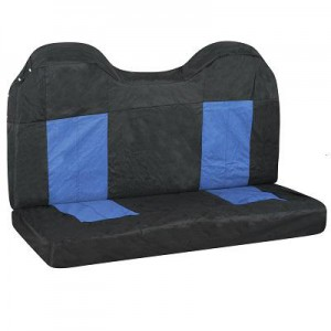 SEAT COVER BLACK BLUE REAR 4X4 - ST460 (X-APPEAL)