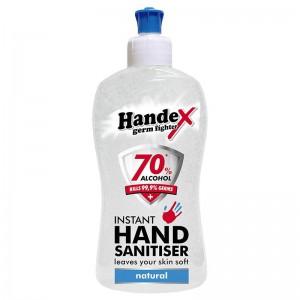 HANDEX HAND SANITISER 70% NATURAL - 500ML