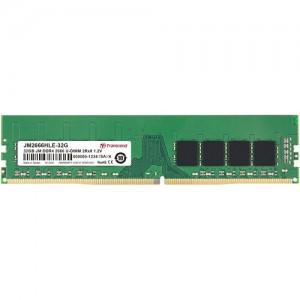 Transcend 32GB Jet Memory DDR4 2666MHZ Desktop UDIMM 2RX8 2GX8 CL19