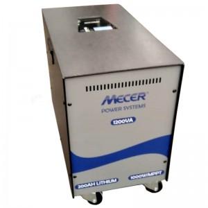 Mecer 1200VA Inverter + 200AH LITHIUM Battery (8 HOUR BATTERY LIFE) KIT - 1000W