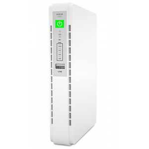 Mini UPS DC to DC with USB and PoE Output Power Over Ethernet - 32.56Wh (8800mAH)