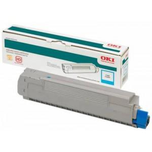 Oki C711 High Capacity Cyan Toner Cartridge