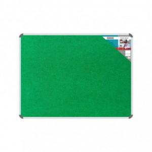 Bulletin Board Ribbed Aluminium Frame (600x450mm - Palm)