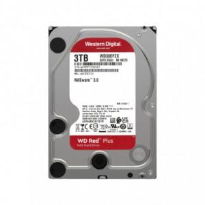 WD Red Plus 3TB 5400RPM SATA 6Gbs 64mb Cache 3.5 inch Internal Hard Drive