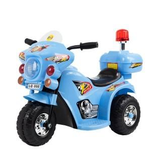 Jeronimo -  Siren Police Bike - Blue