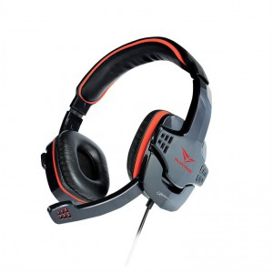 Alcatroz Alpha MG-370 Gaming Headset - Black/Red
