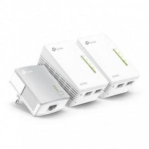 TP-Link WPA4220TKIT 600Mbps Powerline Extender (3 Pack), 300Mbps Wi-FI Extender