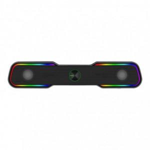T-Dagger T-TGS600 2 x 3W|3.5mm|RGB Soundbar - Black