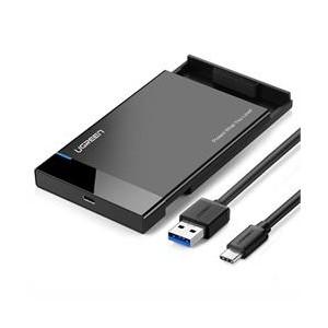 "Ugreen 2.5"" SATA USB 3.0 Hard Drive Enclosure (USB Type-C to USB 3.0A Cable)"