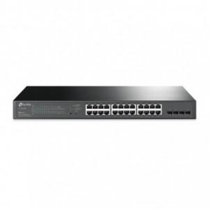 TP-Link 24-Port Gigabit Smart PoE+ Switch with 4 SFP Slots