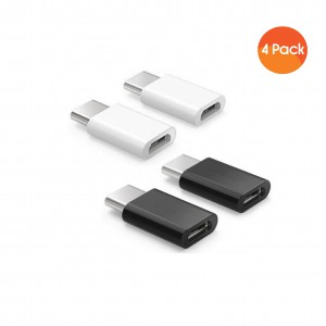 ARKTeK USB-C to Micro USB Adapter for Data Syncing and Charging Convert Connector -USB Type C Adapter [4-Pack]