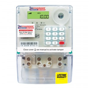 Recharger Prepaid Electricity Meter 80Amp
