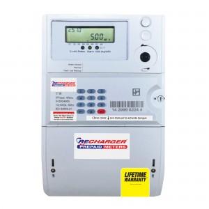 HEXING Three Phase Keypad Prepaid Electricity Meter (Ideal Prepaid) 100Amp