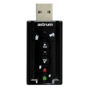 Astrum USB Virtual 8 channels, 3D sound support