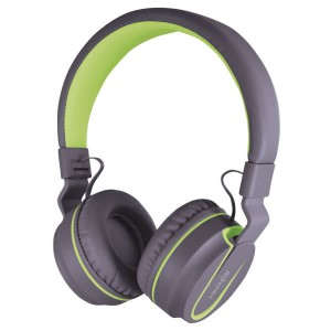 SonicGear Airphone V Bluetooth Headsets - Grey/Lime Green
