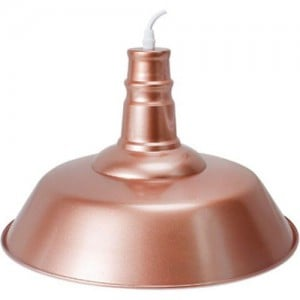 ACDC Dynamics Traditional Range Pendant Light - Rose Gold