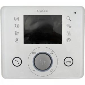 """BPT - OPALE 3.5"""" Color Video Handsfree Monitor  - White"""