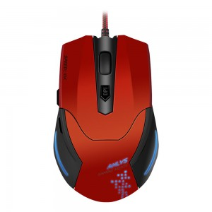 Speedlink AKLYS G-TechaminG-Tech Mouse - Black-red