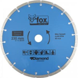 Cutting Disk - 230mm Diamond - Segmented