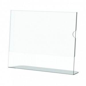 Acrylic Menu Holder - Single Sided - A4 Landscape - Box 5