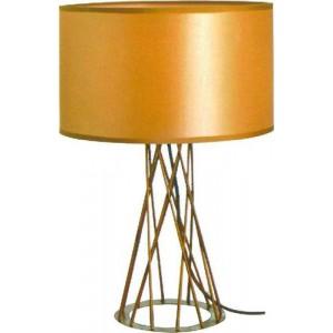 ACDC Dynamics Scandinavian Range Drum Shaped Table Light - Gold