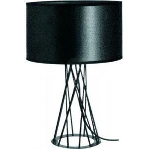 ACDC Dynamics Scandinavian Range Drum Shaped Table Light - Black
