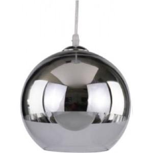 ACDC Dynamics Hollywood Glam Range Bowl Shaped Pendant Light - Glass and Chrome