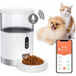 Automatic Pet Feeder Remote Feeder with WiFi Mobile Phone Control