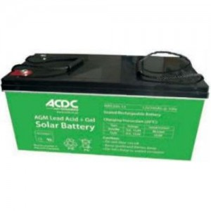 ACDC Dynamics 12V 65AH AGM Lead Acid and Gel Solar Battery