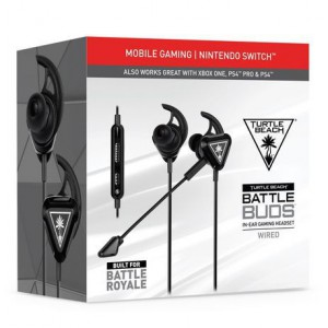 Turtle Beach - Battle Buds In-Ear Wired Gaming Headset for Mobile Gaming (Nintendo Switch)