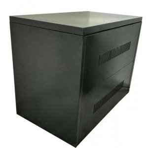 C8 Steel Battery Cabinet - Holds 8x 100Ah batteries (incl circuit breaker)