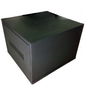 C2 Steel Battery Cabinet - Holds 2x 100Ah batteries (incl circuit breaker)